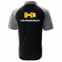 POLO HUMMER H1  NOIR ET GRIS