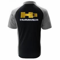 POLO HUMMER H3  NOIR ET GRIS