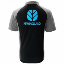 POLO NEW HOLLAND  NOIR ET GRIS