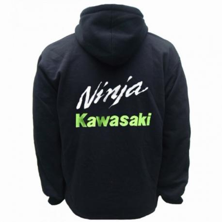 f41a81ce9 HOODIE KAWASAKI NINJA SWEAT CAPUCHE