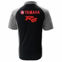 POLO YAMAHA R6  NOIR ET GRIS