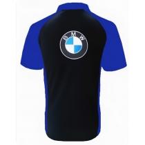 POLO BMW NOIR ET BLEU
