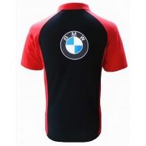 POLO BMW NOIR ET ROUGE