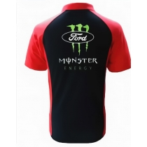 POLO FORD MONSTER RACING NOIR ET ROUGE