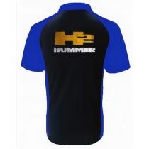 POLO HUMMER H2 NOIR ET BLEU