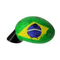 Housse Brésil pour Rétroviseur Voiture