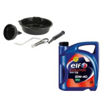 Kit Outillage Vidange ELF 15W40 Essence 5L