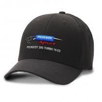 CASQUETTE PEUGEOT 205 TURBO 16 E2