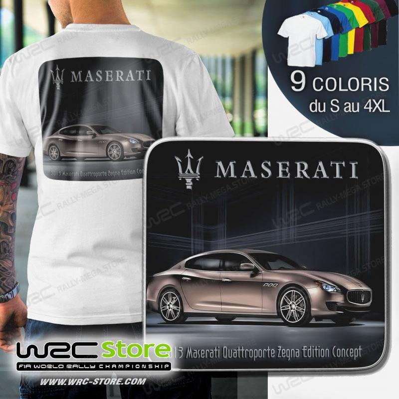 T Shirt Maserati Quattroporte Zegna Edition Concept