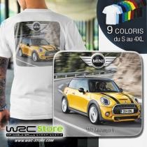 Tee Shirt Mini Cooper S modèle année 2015